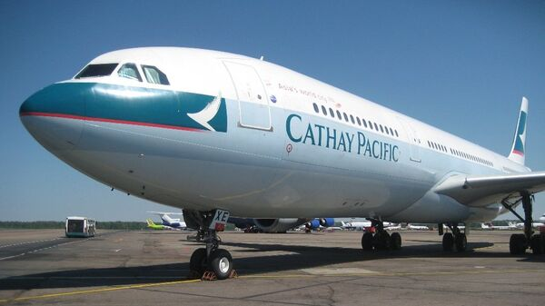 Самолет авиакомпании Cathay Pacific Airways. Архивное фото