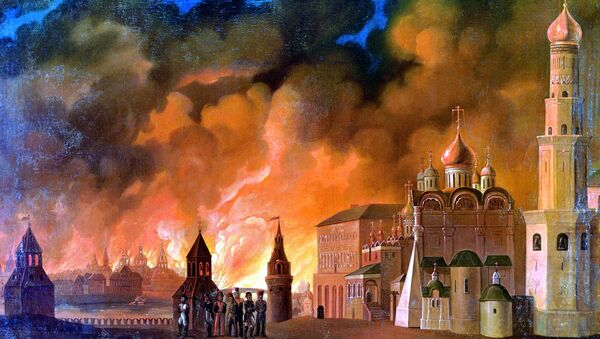 Пожар Москвы в 1812 г.