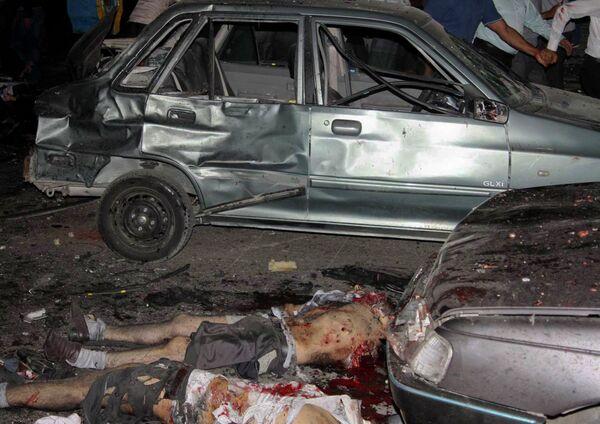 На месте теракта в иранском Захедане