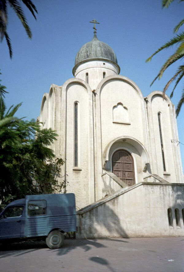 Православный храм в Тунисе. Архив