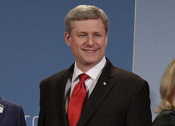 Премьер-министр Канады Стивен Харпер. Архивное фото