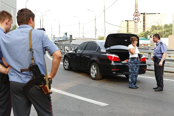 Стрельба в центре Москвы на Серебрянической набережной