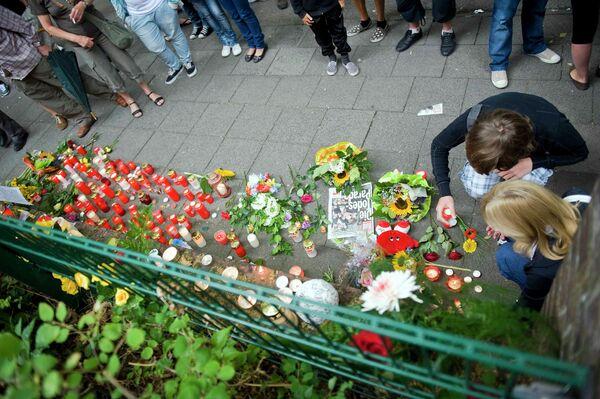 Память жертвам на Параде любви в Германии