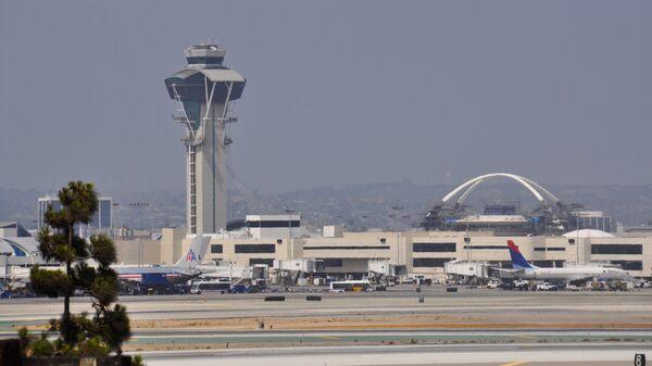 Международный аэропорт Лос-Анджелеса, США. Архивное фото