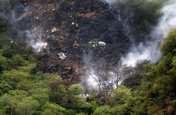 Крушение пассажирского самолета в Пакистане