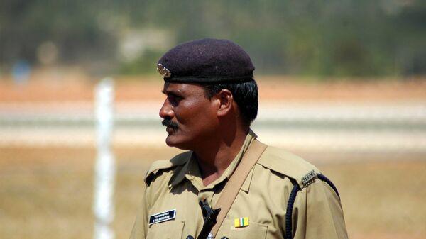 Полицейский в Индии