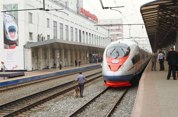 30 июля поезда Сапсан начали курсировать на линии Москва - Нижний Новгород