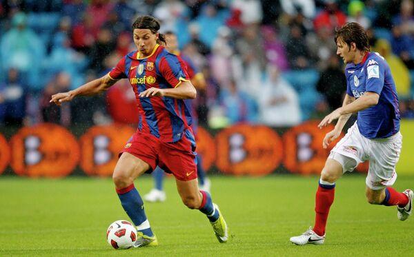 Игровой оммент мача Волеренга - Барселона