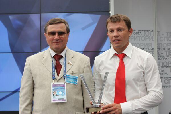 Олег Смолин и Виктор Майгуров