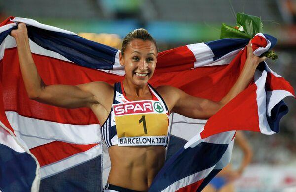 Британка Джессика Эннис стала чемпионкой Европы по легкой атлетике в семиборье.