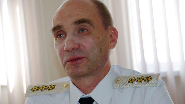 Главнокомандующий военно-морским флотом РФ Владимир Высоцкий
