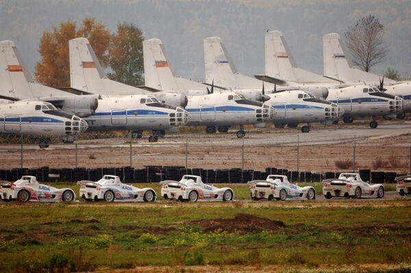 Самолеты Ан-24. Архив