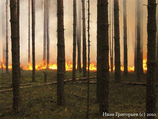 Пожар в Кировской области