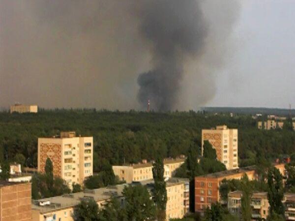 Лесной пожар в Нововоронеже подбирается к АЭС