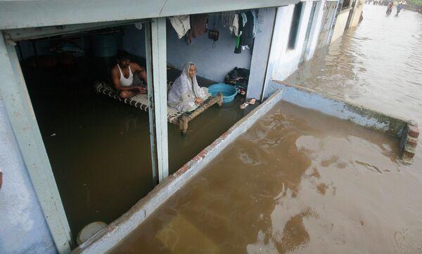 Наводнение на севере Индии