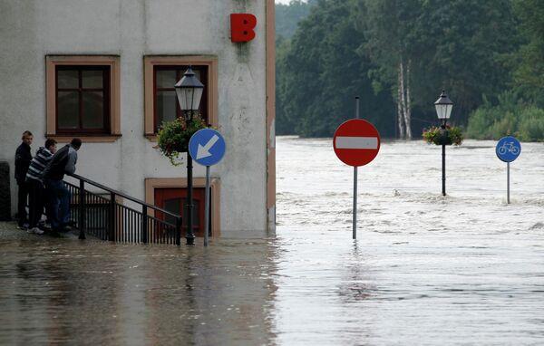 Наводнение в Польше