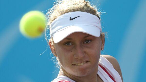 Теннисистка Дарья Гаврилова. Архивное фото