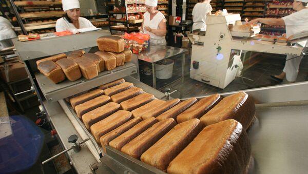 Производство хлеба. Архив