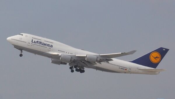 Самолет авиакомпании Lufthansa. Архив