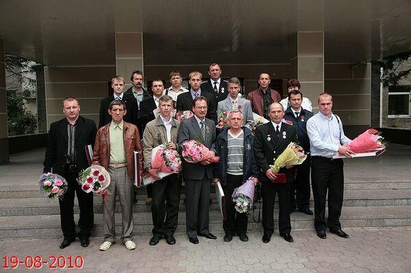 Участники спасательной операции на СШГЭС получили госнаграды