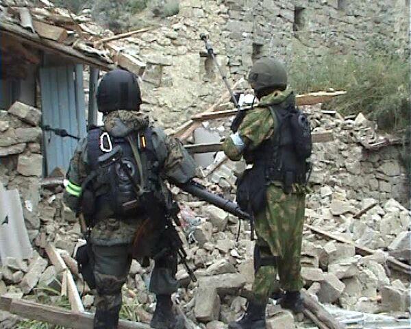 Спецоперация в дагестанском селе