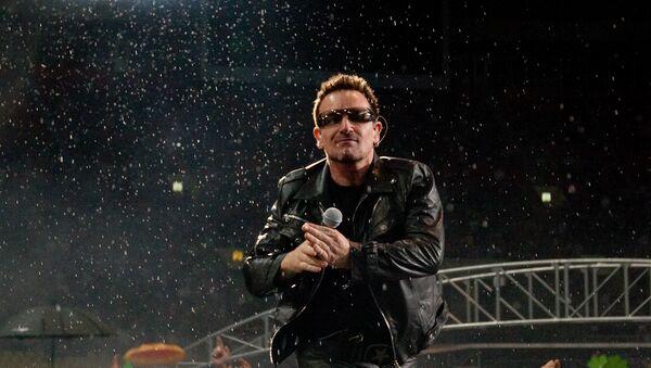 Концерт ирландской группы U2. Архивное фото