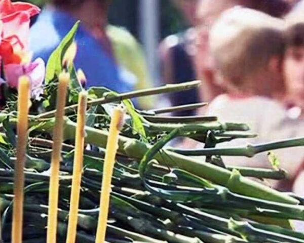 Память горняков, погибших на Распадской, почтили в День Шахтера