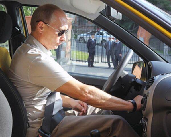 Путин испытал трассу Амур и поручил обустроить ее за год