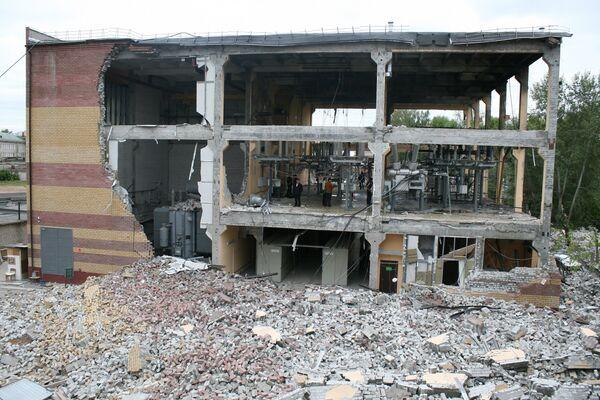 В Казани на электростанции Ленинская произошел взрыв