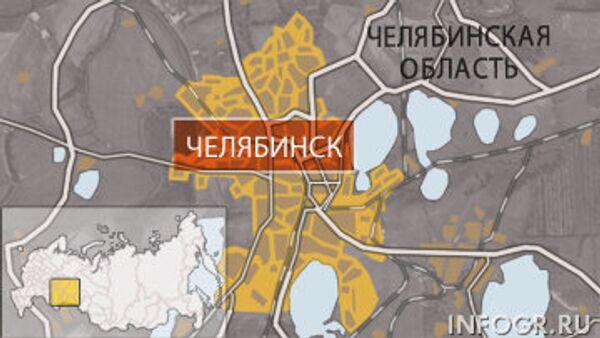 Челябинск. Карта