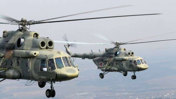 Вертолеты Ми-17. Архив