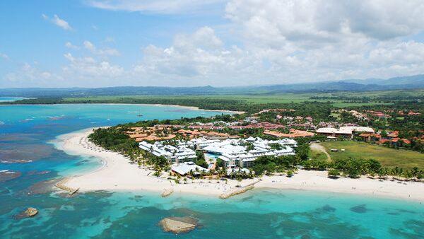 Гостиничный комплекс Grand Paradise Playa Dorada с высоты птичьего полета. Архивное фото