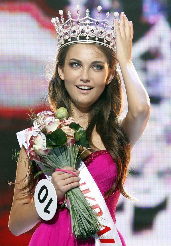 Победительницей финала Национального конкурса Мисс Украина-2010 стала 20-летняя одесситка Екатерина Захарченко