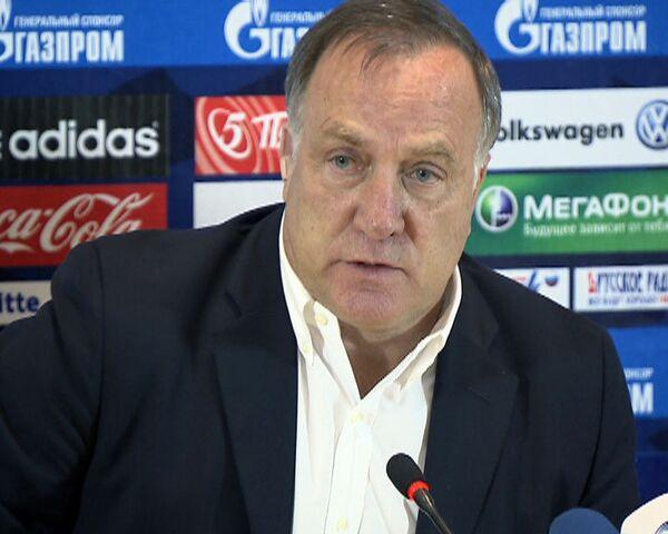 Дик Адвокат удовлетворен игрой сборной РФ по футболу с командой Словакии