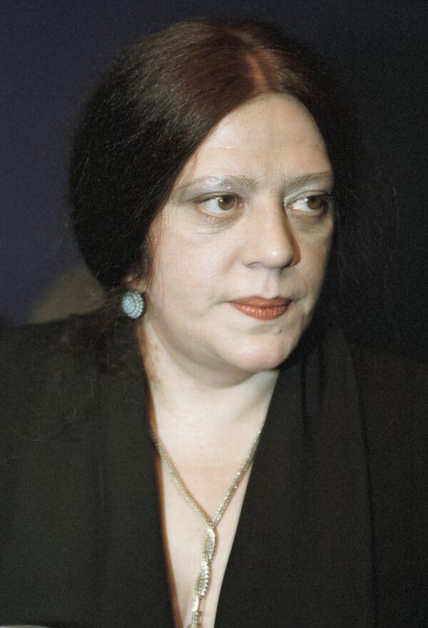 Писательница Татьяна Толстая