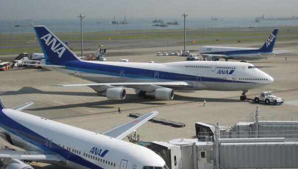 Boeing-747 и 767s авиакомпании ANA