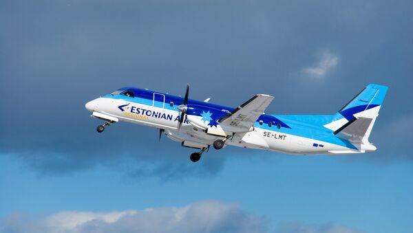 Самолет авиакомпании Estonian Air. Архивное фото