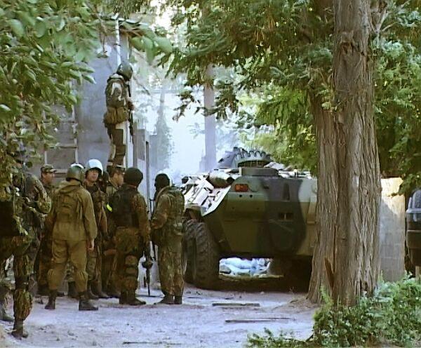 Восемь боевиков уничтожены в Дагестане