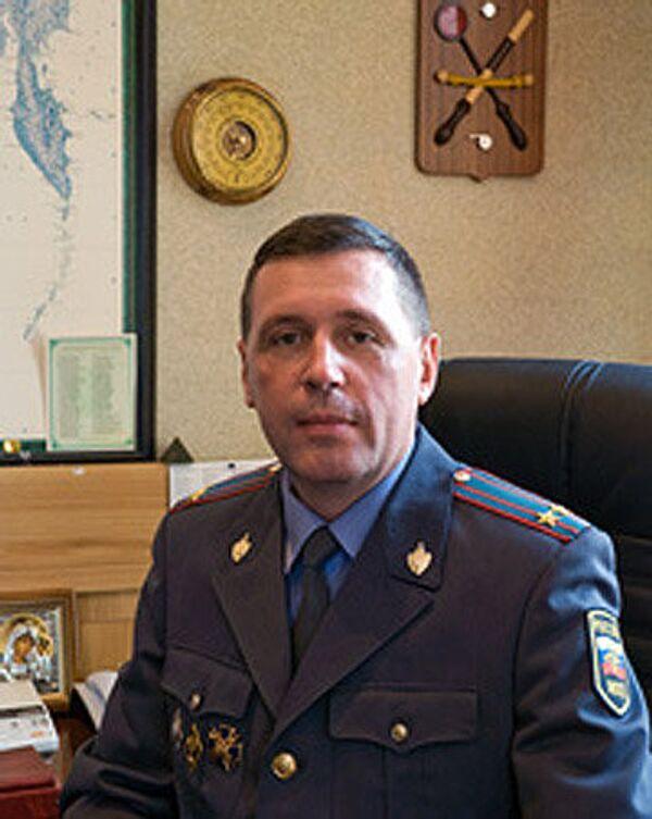 Начальник УГИБДД УВД по Тульской области Игорь Коновалов