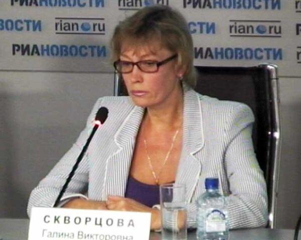 Галина Скворцова рассказала, как ее дочь боролась за свою жизнь