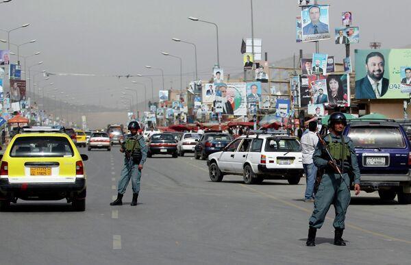 Меры безопасности в Афганистане в связи с парламентскими выборами