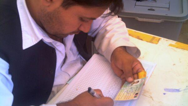 Выборы в Афганистане, архивное фото