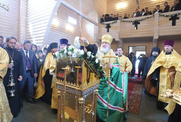 Патриарх Кирилл прибыл на Сахалин