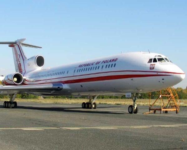 Отремонтированный близнец самолета Качиньского передан Польше