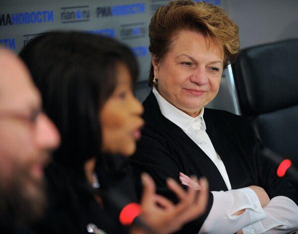 Пресс-конференция на тему: Московское образование: от младенчества до школы в агентстве РИА Новости