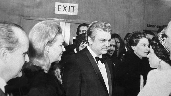 Бондарчук и Скобцева на приеме у королевы Англии