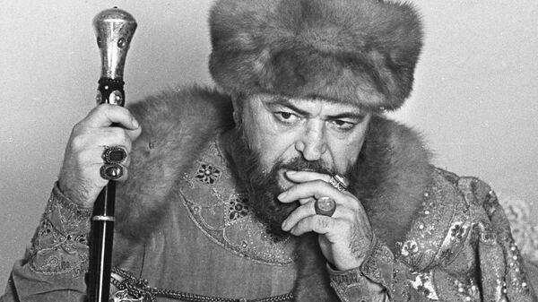 Бондарчук в роли Бориса Годунова