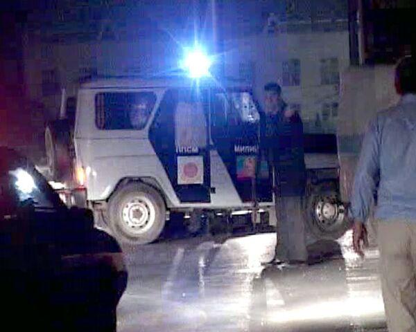 Смертник атаковал милиционеров во время контртеррористической операции