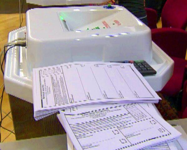 Машина для подсчета голосов на выборах исключит вброс бюллетеней