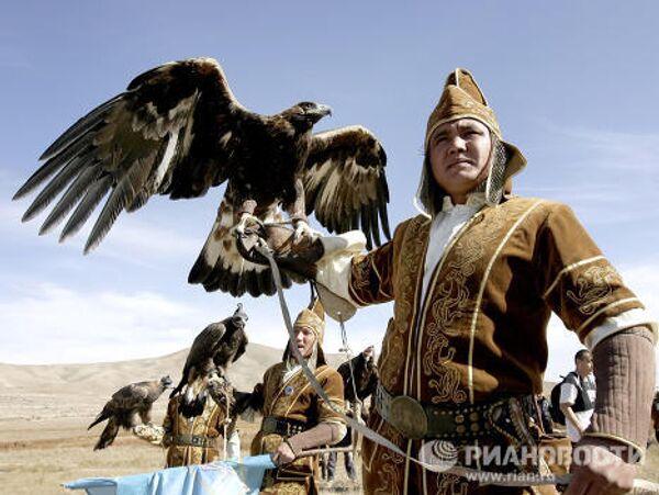 Национальный спортивный фестиваль Салбурун проходит в Киргизии